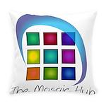 The Mosaic Hub Logo Everyday Pillow
