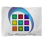 The Mosaic Hub Logo Pillow Sham