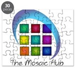The Mosaic Hub Logo Puzzle