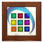 The Mosaic Hub Logo Framed Tile