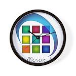 The Mosaic Hub Logo Wall Clock