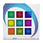 The Mosaic Hub Logo Tile Coaster