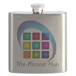 The Mosaic Hub Logo Flask