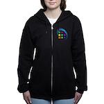 The Mosaic Hub Logo Women's Zip Hoodie