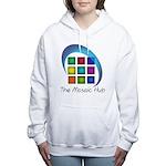 The Mosaic Hub Logo Women's Hooded Sweatshirt