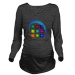 The Mosaic Hub Logo Long Sleeve Maternity T-Shirt