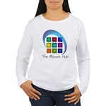 The Mosaic Hub Logo Long Sleeve T-Shirt
