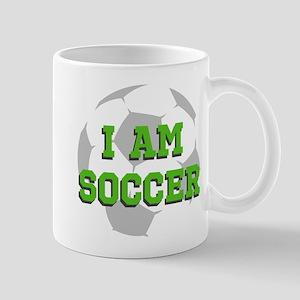 I Am Soccer Mugs