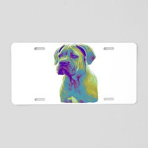 Cane Corso Dog Aluminum License Plate