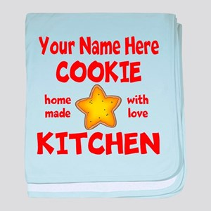 Cookie Kitchen baby blanket