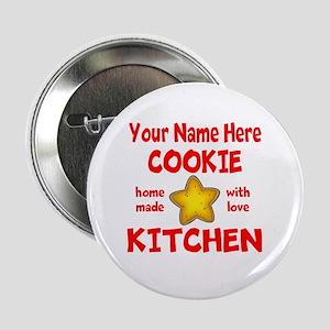 """Cookie Kitchen 2.25"""" Button"""