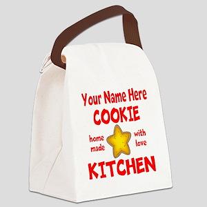Cookie Kitchen Canvas Lunch Bag
