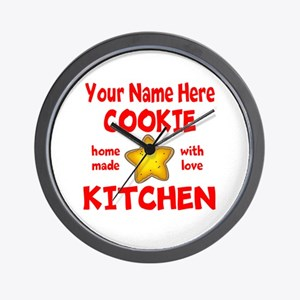 Cookie Kitchen Wall Clock