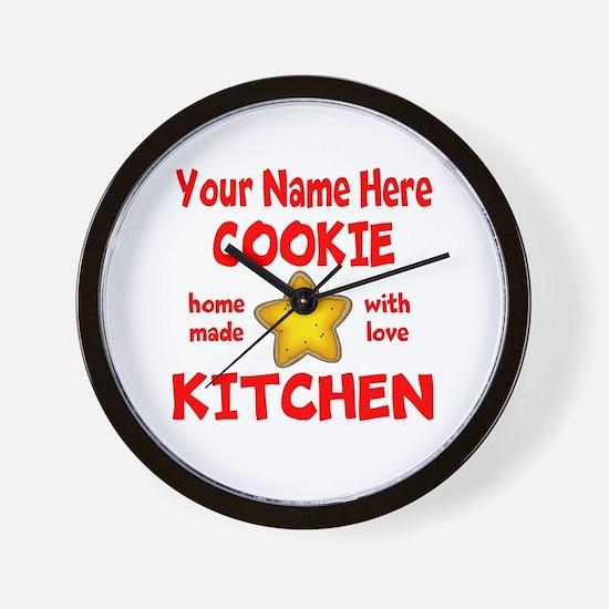 Cookie Kitchen Wall Clock