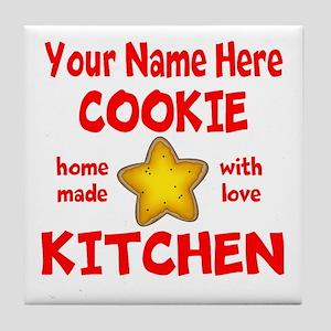 Cookie Kitchen Tile Coaster