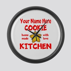Cookie Kitchen Large Wall Clock