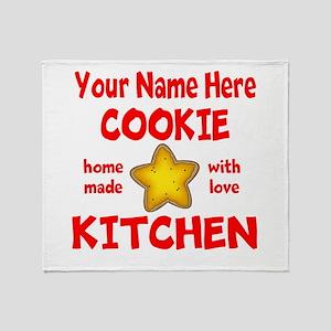 Cookie Kitchen Throw Blanket