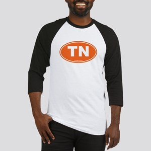 Tennessee TN Euro Oval Baseball Jersey