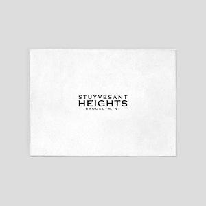 Stuyvesant Heights, Brooklyn, NY 5'x7'Area Rug