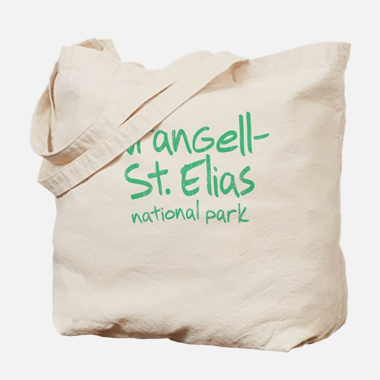 Wrangell-St. Elias National Park (Graffiti) Tote B