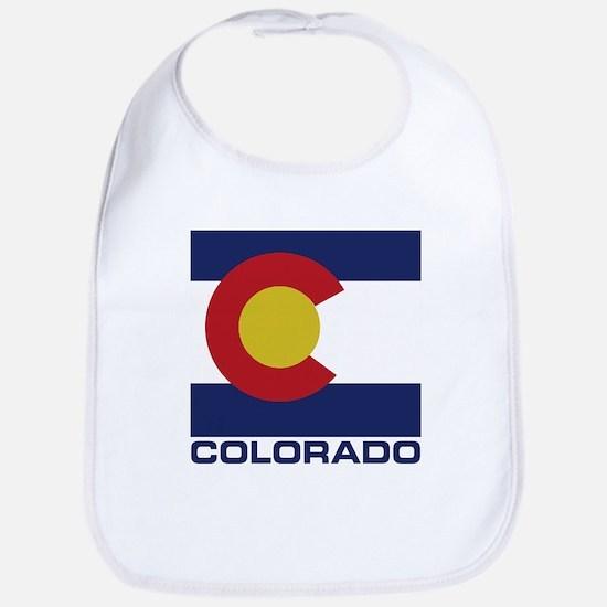 Colorado Flag Baby Bib
