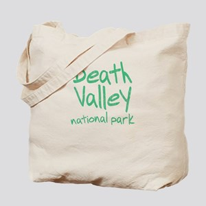 Death Valley National Park (Graffiti) Tote Bag
