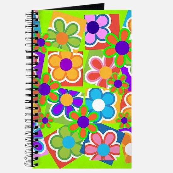 Wild Sixties Flowers Journal