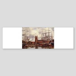 Eugene Boudin - A French Port Bumper Sticker