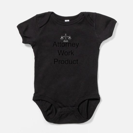 Cute Lawyer litigation Baby Bodysuit