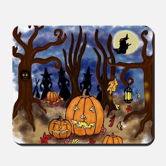 Witchy Halloween Mousepad