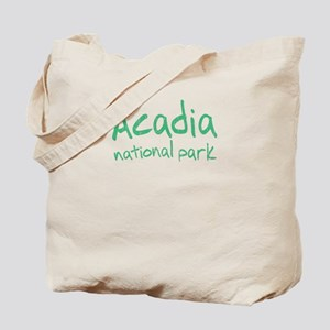 Acadia National Park (Graffiti) Tote Bag