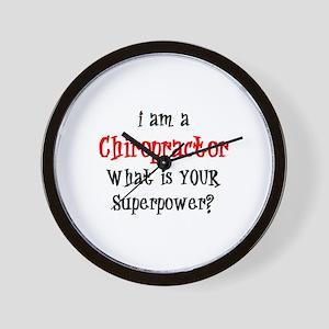 chiropractor Wall Clock