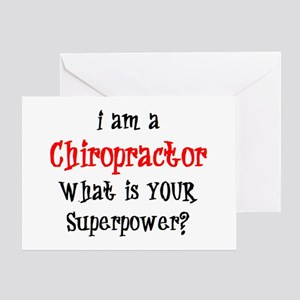 chiropractor Greeting Card