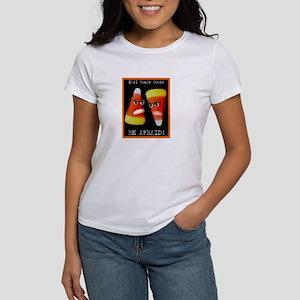 Evil Candy Corns Women's T-Shirt