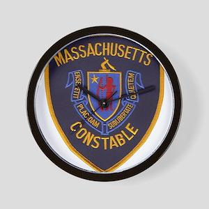 Massachusetts Constable Wall Clock