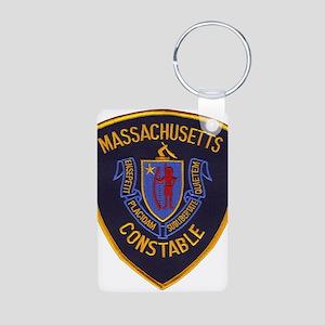 Massachusetts Constable Aluminum Photo Keychain