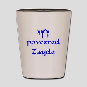 Chai powered Zayde Shot Glass