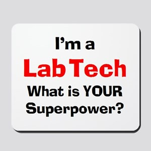 lab tech Mousepad