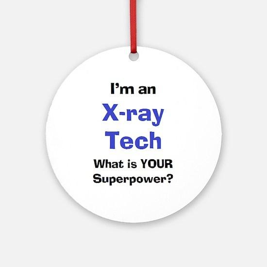 x-ray tech Ornament (Round)