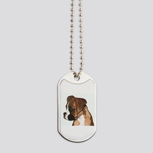Boxer Puppy Dog Tags