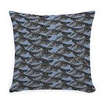 Leaping Borzoi Everyday Pillow