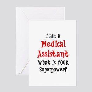 Medical assistant greeting cards cafepress medical assistant greeting card m4hsunfo