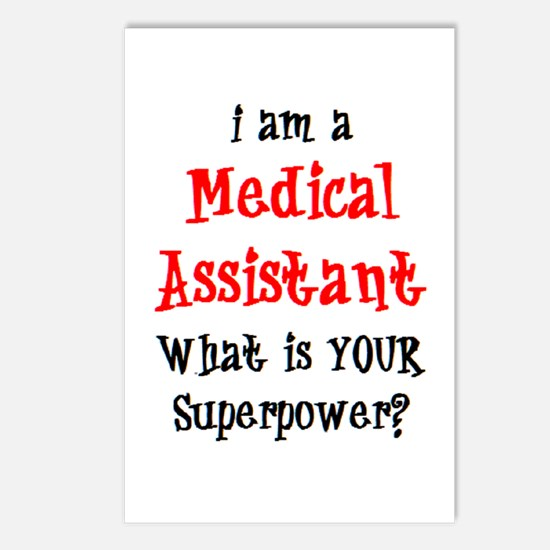 medical assistant Postcards (Package of 8)