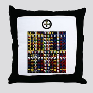 Enochian Earth Watchtower Throw Pillow