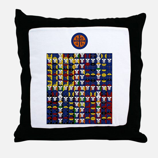 Enochian Water Watchtower Throw Pillow