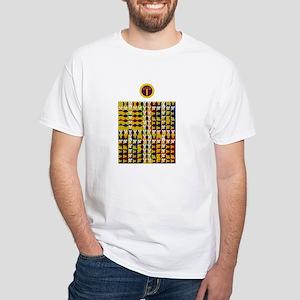 Enochian Air Watchtower White T-Shirt