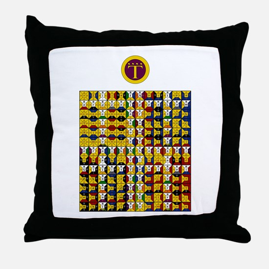 Enochian Air Watchtower Throw Pillow