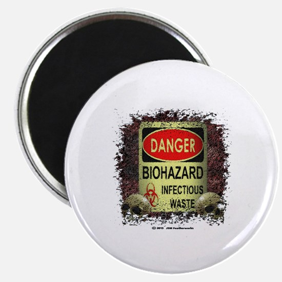 INFECTIOUS WASTE Magnet
