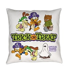 Trick Or Treat Everyday Pillow