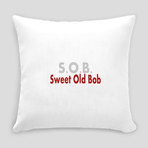 SOB Sweet Old Bob Everyday Pillow